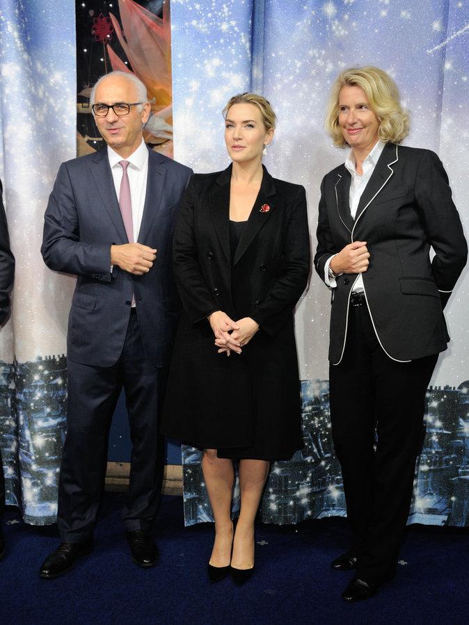 Kate Winslet à Paris le 6 novembre 2015