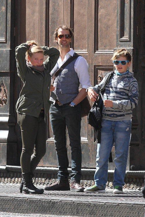 Le mari et les enfants de Kate Winslet