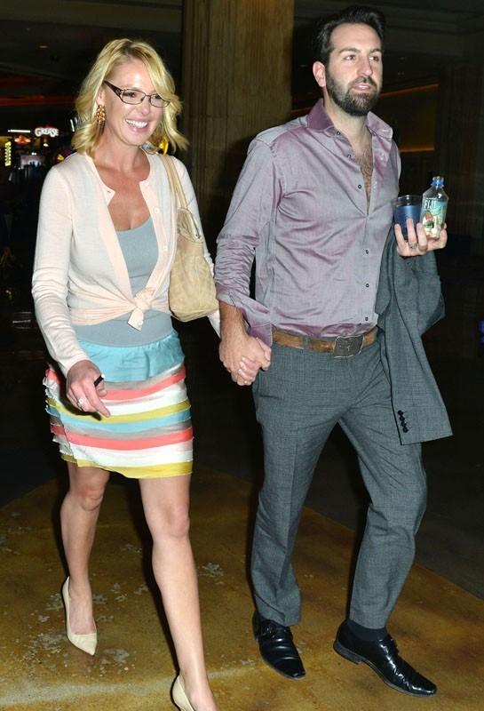 Katherine Heigl et Josh Kelley à Las Vegas le 2 octobre 2012
