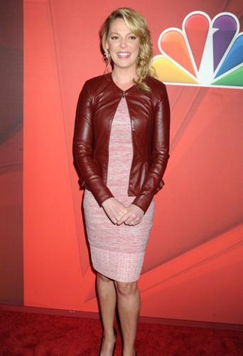 Katherine Heigl à New York le 12 mai 2014