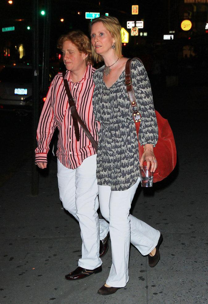 Cynthia Nixon et son épouse Christine Marinoni sont mariées depuis 2012