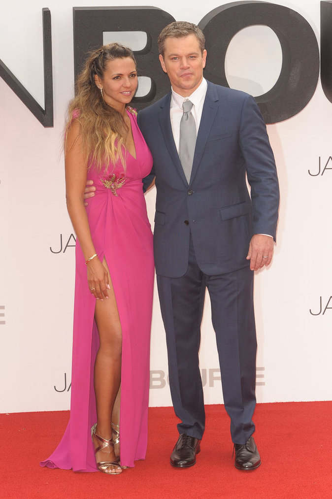 Matt Damon et Luciana Barroso sont mariés depuis 2005