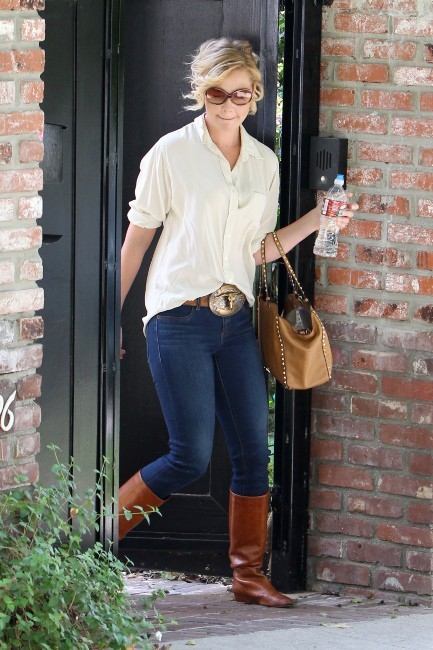 Katherine Heigl le 9 octobre 2012 à Los Angeles
