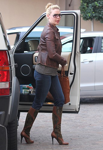 Katherine Heigl à Los Angeles le 9 janvier 2014