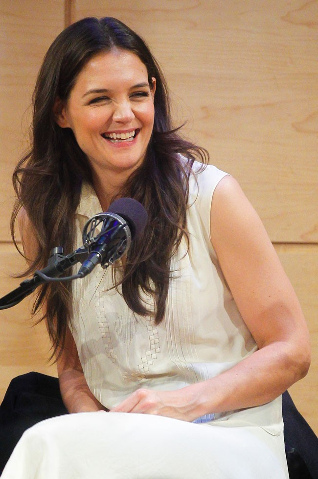 Katie Holmes le 25 octobre 2012 à New York