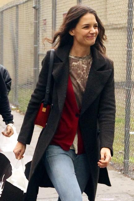 Katie Holmes le 9 décembre 2012 à New York