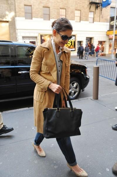 Katie Holmes le 28 novembre 2012 à New York