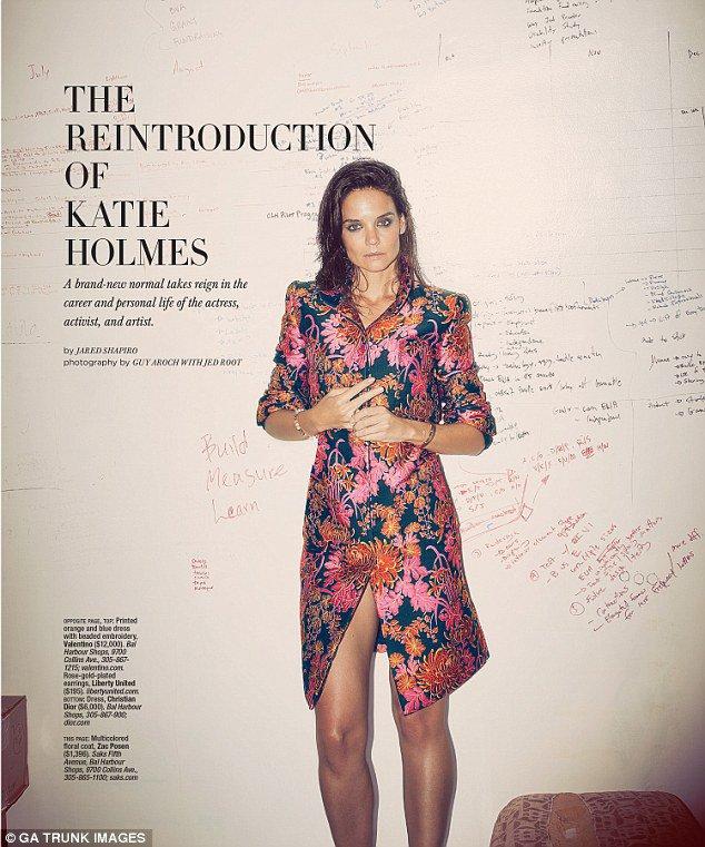 Photos : Katie Holmes : en couverture du magazine Ocean Drive l'ex Madame Cruise se dévoile