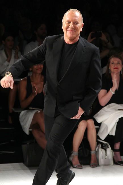 Michael Kors lors de son défilé à New York, le 11 septembre 2013.