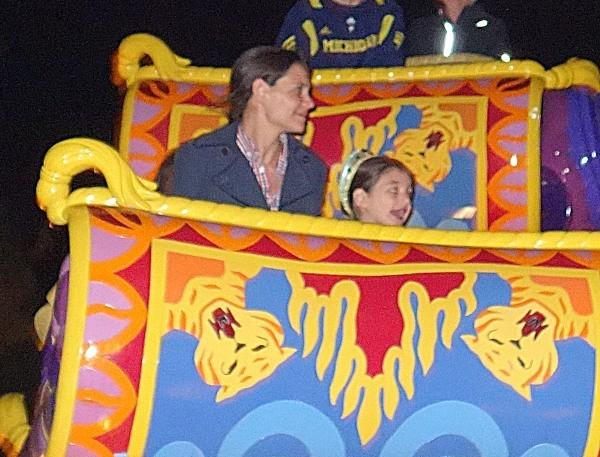 Katie Holmes et Suri Cruise le 28 mars 2013 à Orlando