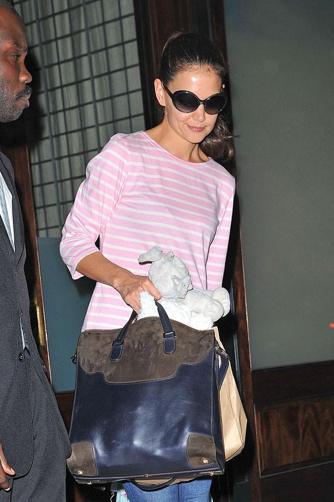 Katie Holmes le 17 septembre 2012 à New York