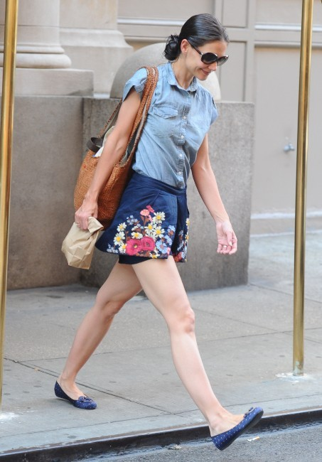 Katie Holmes à New York, le 26 juin 2012.