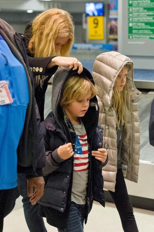 Moses et Apple, les enfants de Gwyneth Paltrow