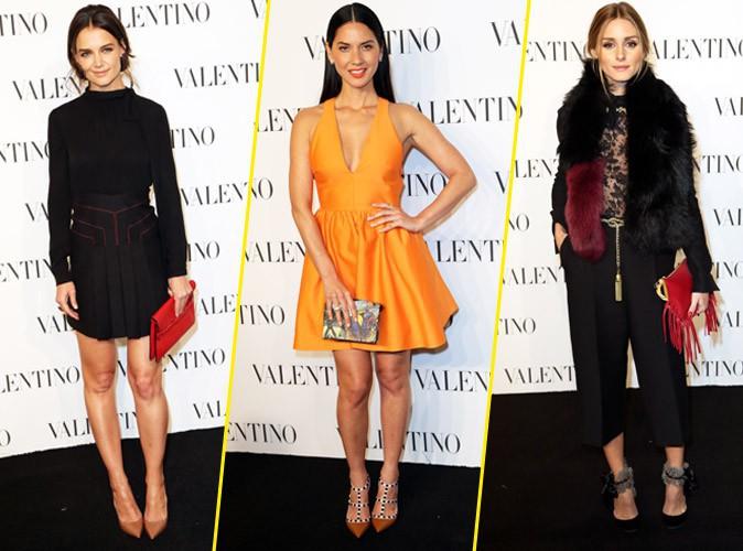 Olivia Palermo, Katie Holmes et Olivia Munn : un trio vitaminé et glamour à souhait !