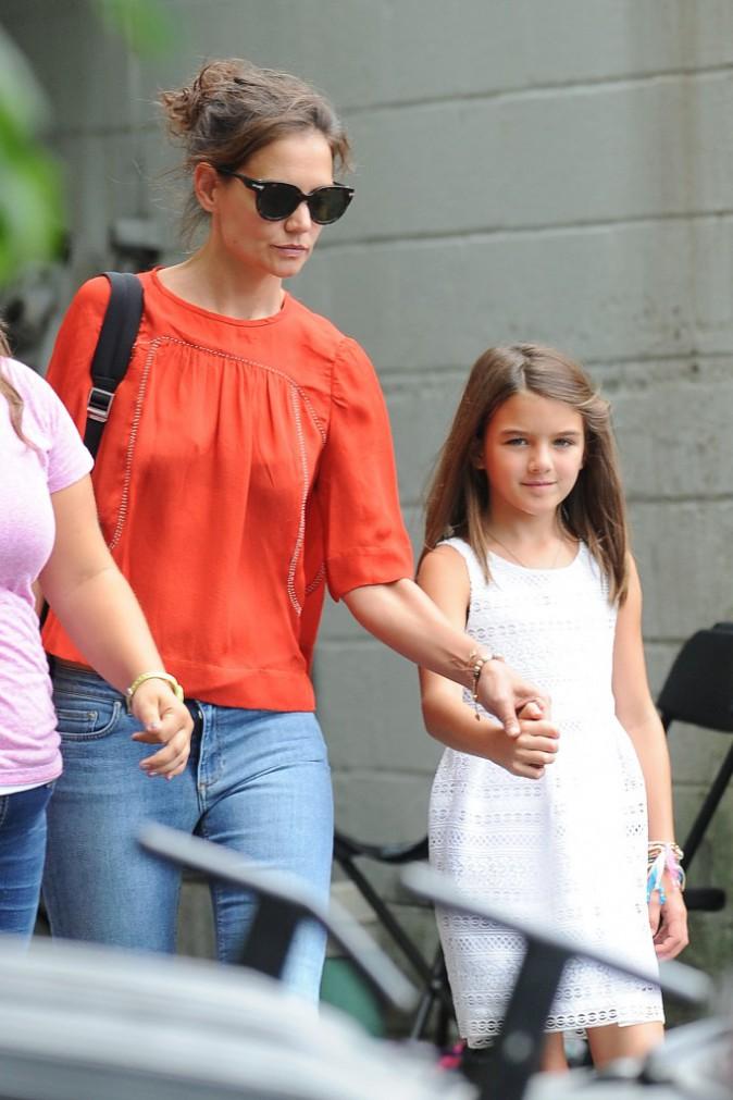 Katie Holmes et Suri Cruise, le 24 août 2015