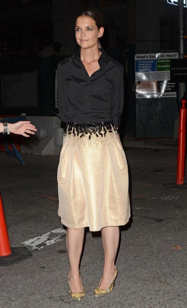 Katie Holmes le 5 septembre 2012 à New York