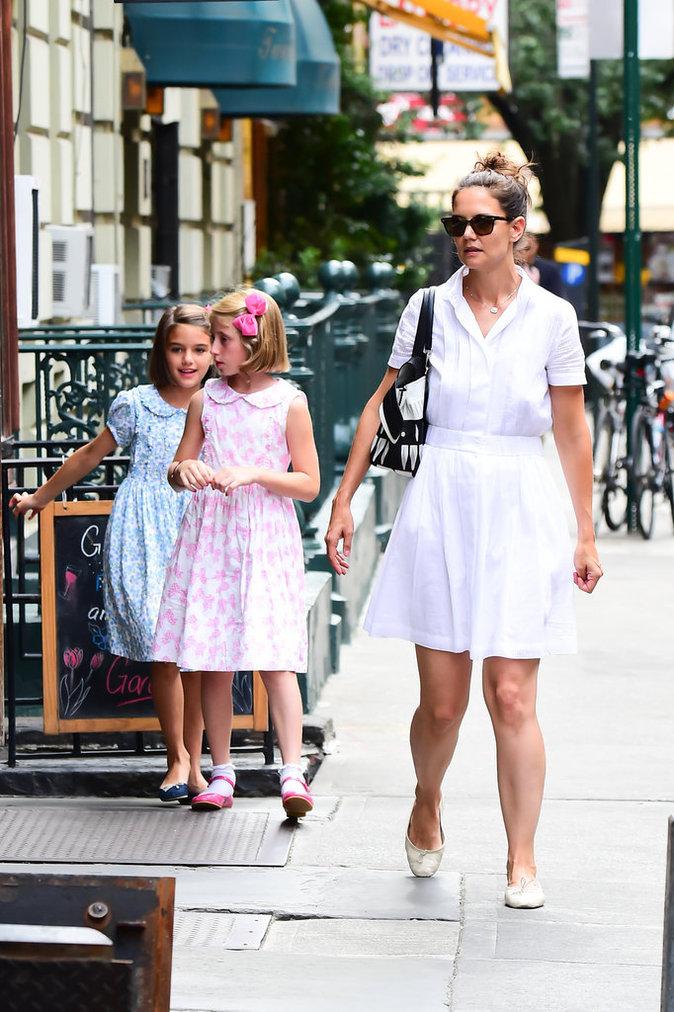 Photos : Katie Holmes : retour vers le passé avec sa fille Suri...