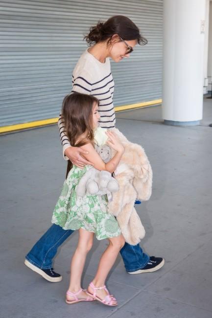 Katie Holmes et Suri Cruise le 27 mai 2013 à New York
