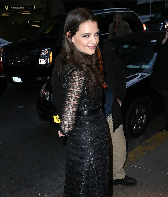 Katie Holmes le 14 mars 2013 à New York