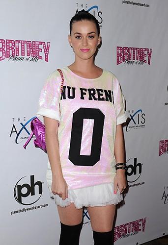 Katy Perry à Las Vegas le 27 décembre 2013