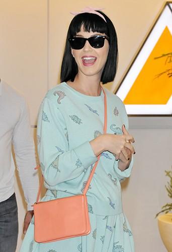 Katy Perry à Tokyo le 1er mars 2014