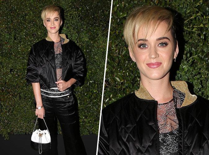 Katy Perry, chic et rock'n'roll à la soirée Chanel