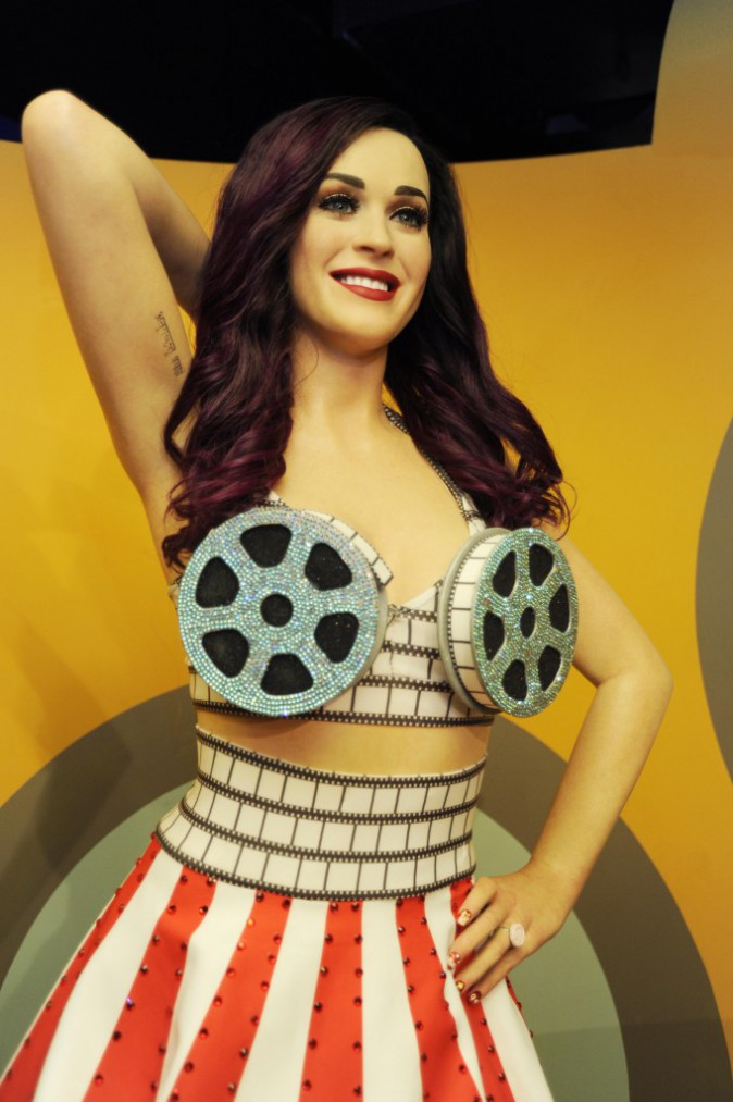 La statue de cire de Katy Perry, au musée Tussauds de Washington.