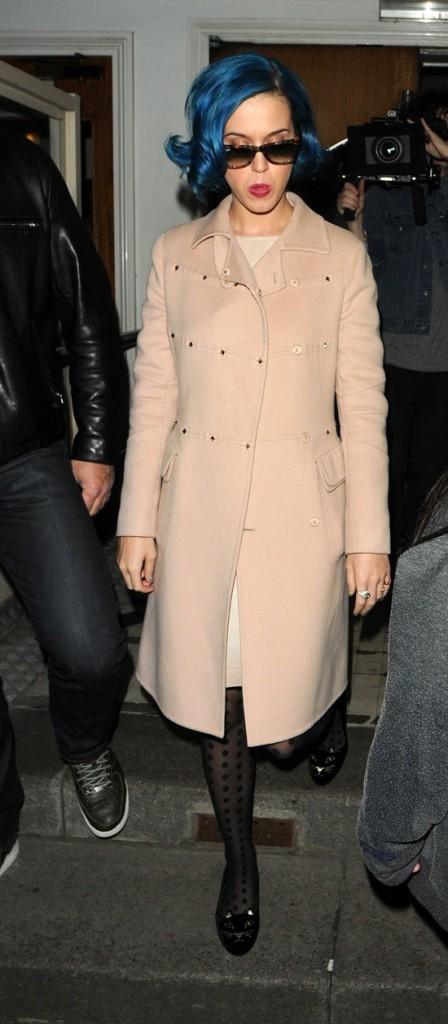 Katy Perry, à la sortie de la BBC