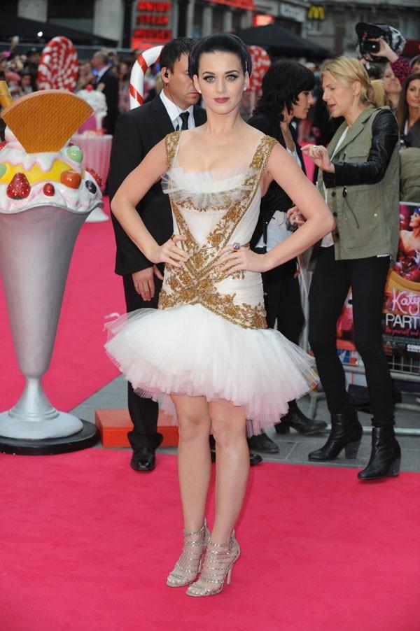 Katy Perry à l'avant-première de son film en 3D à Londres le 3 juillet 2012