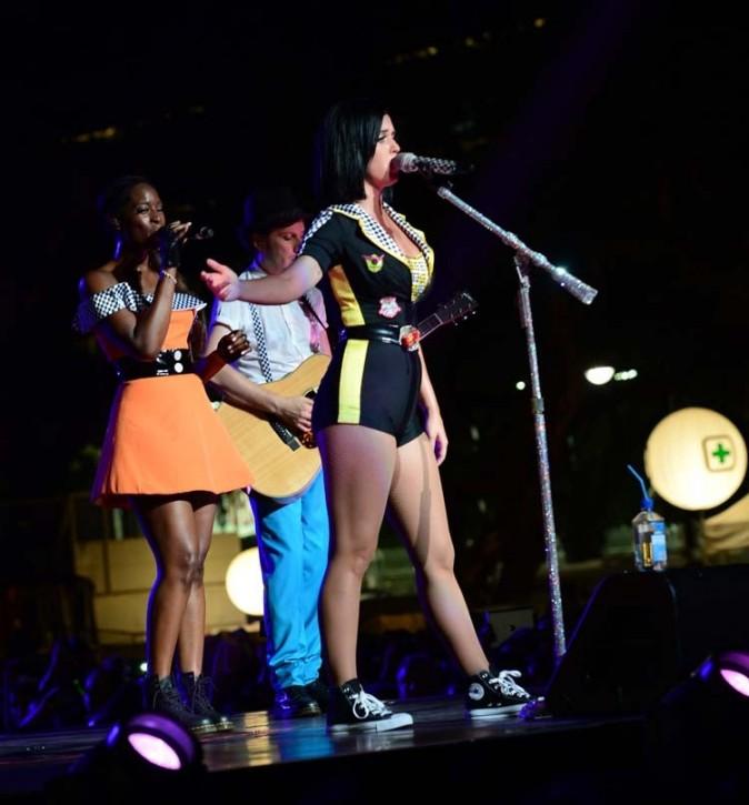 Katy Perry en concert à Singapour le 23 septembre 2012