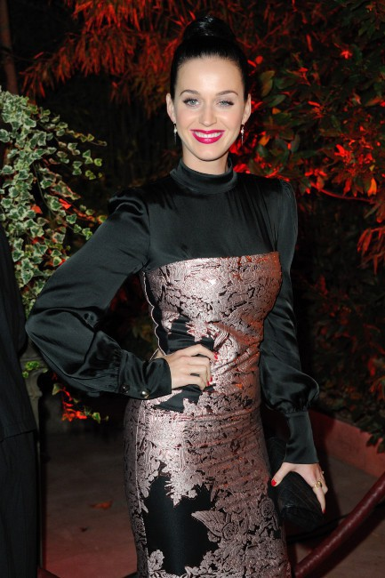 Katy Perry lors de l'after-party du documentaire Mademoiselle C. à Paris, le 1er octobre 2013.
