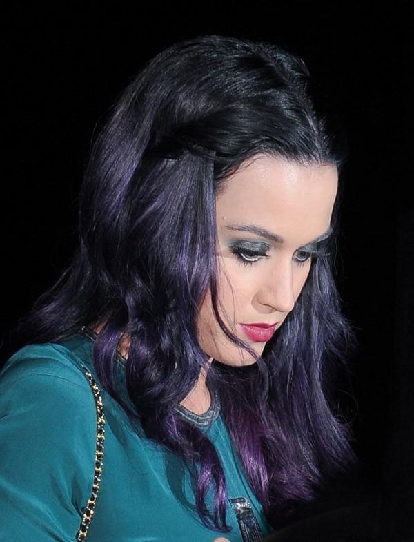 Katy Perry à la sortie d'un club de Londres le 7 juin 2012