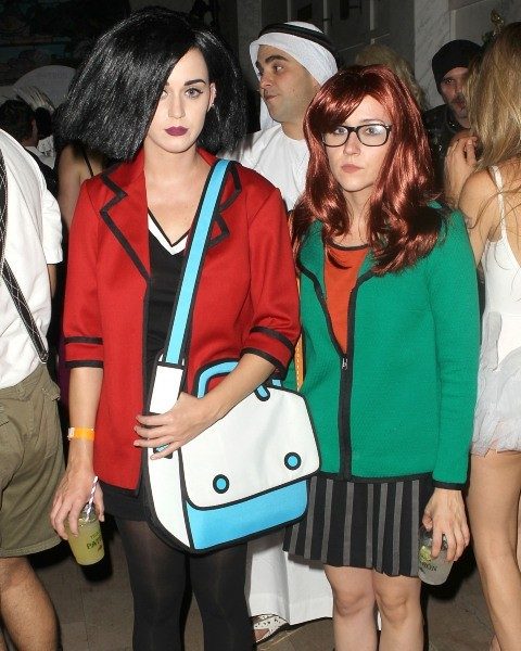 """Katy Perry lors de la """"Hollywood Forever Cemetery Halloween Party"""" à Hollywood, le 1er novembre 2012."""