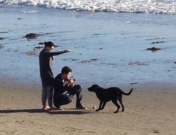 Katy Perry et John Mayer le 24 décembre 2012 à Montecito