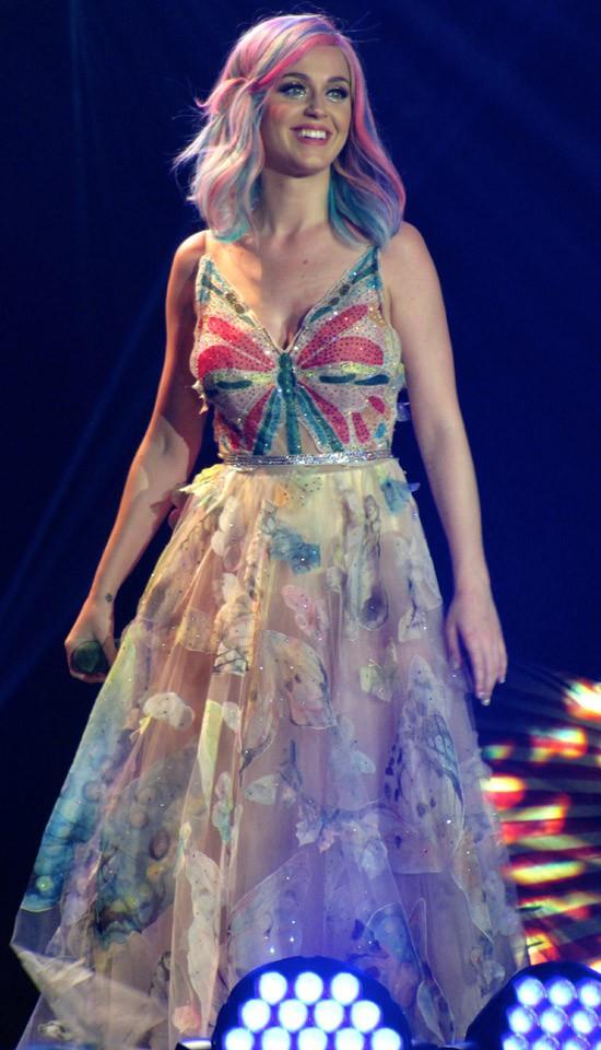 Katy Perry en concert à Belfast le 7 mai 2014