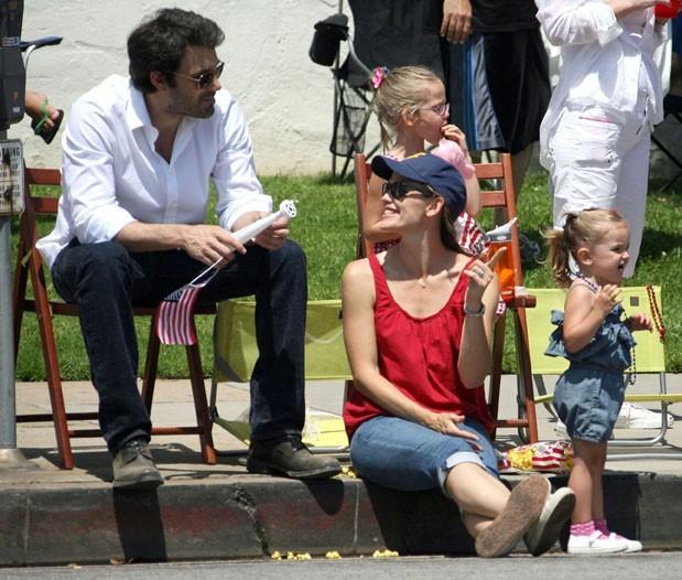 Un moment familial partagé par les peoples comme par tous les Américains !