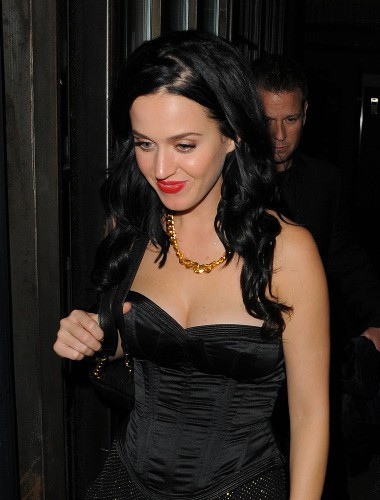 Katy Perry à Londres, le 20 octobre 2013.
