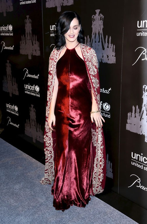 Katy Perry à l'UNICEF Snowflake Ball organisé à New-York le 3 décemre 2013