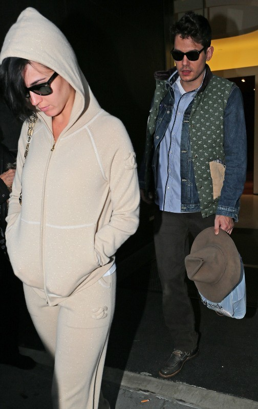 Katy Perry et John Mayer le 17 octobre 2012 à New York