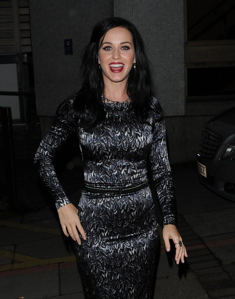 Katy Perry à Londres, le 17 octobre 2013.
