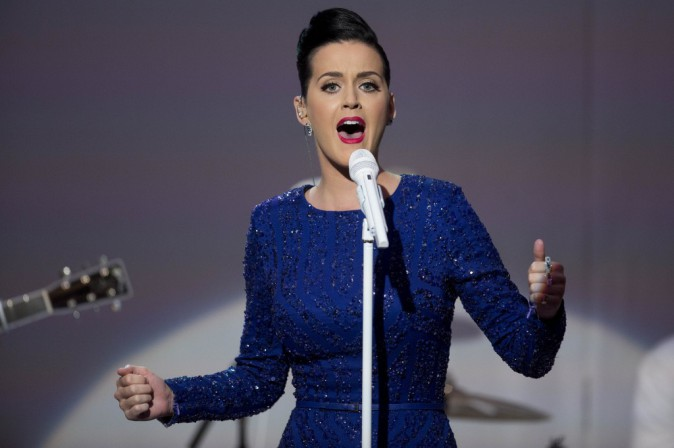 Katy Perry : sublime pour chanter � la Maison Blanche devant un Barack Obama totalement conquis !