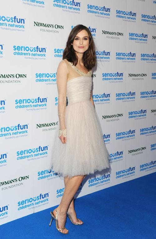 Keira Knightley au SeriousFun Gala organisé à Londres le 3 décembre 2013