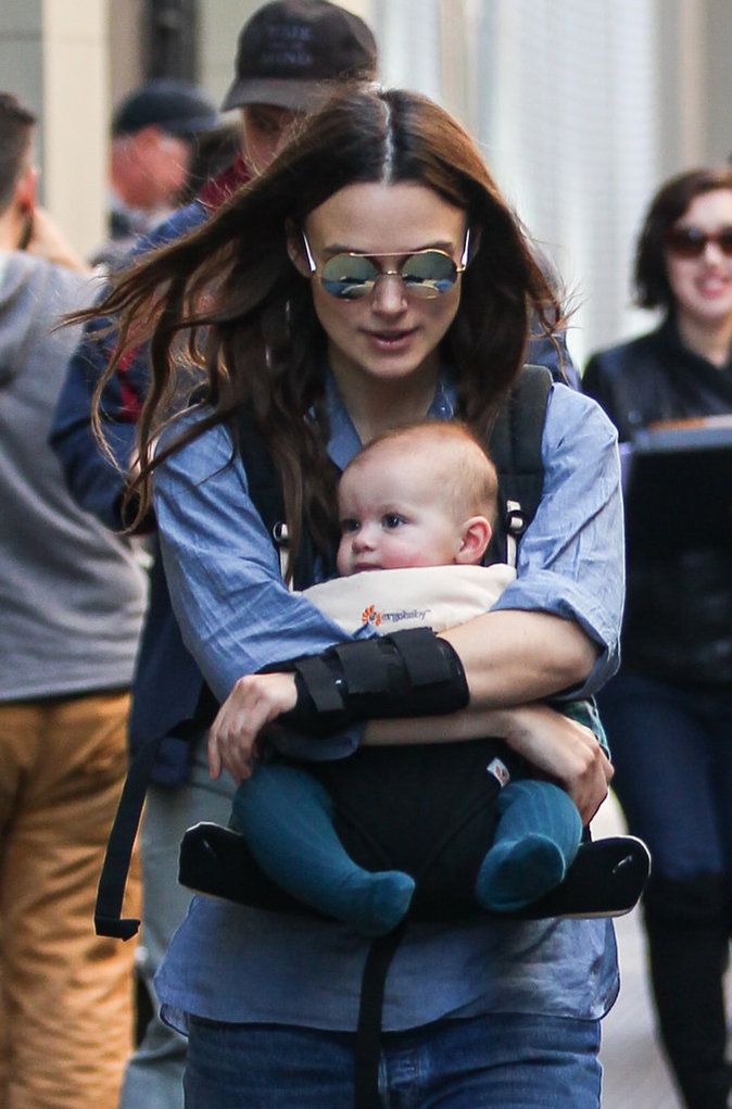 Keira Knightley : encore une star qui se fait voler la vedette par sa baby-girl !