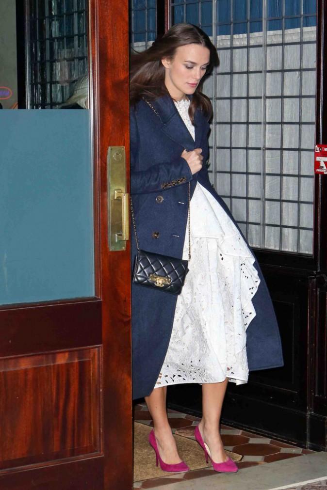 Keira Knightley : elle serait enceinte de 12 semaines !