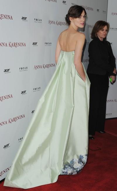 Keira Knightley le 14 novembre 2012 à Hollywood