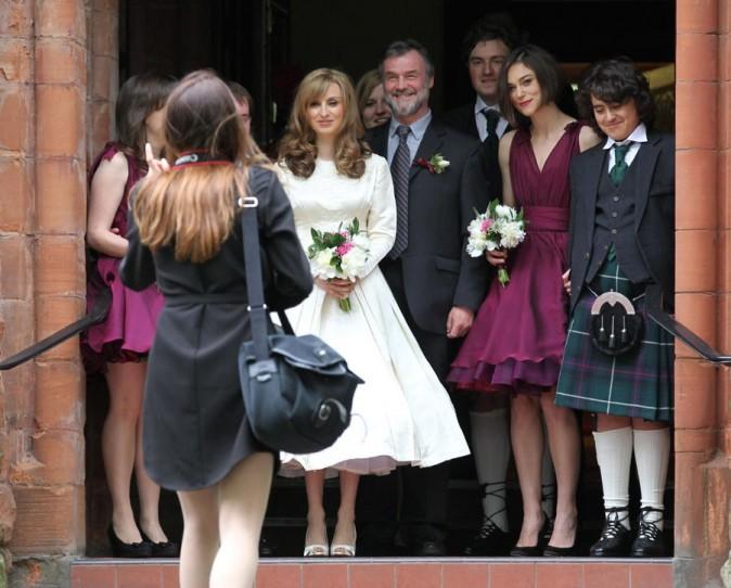 Une vraie famille écossaise !