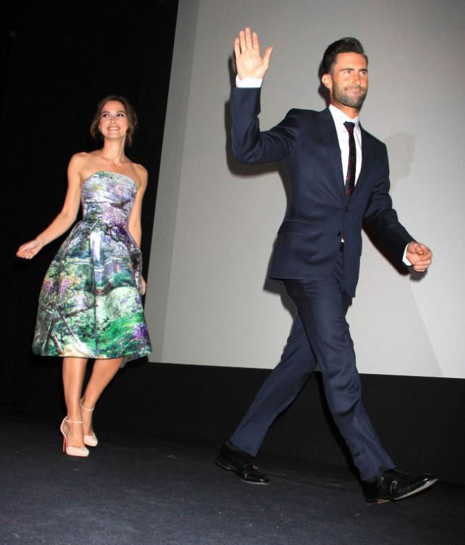 Keira Knightley et Adam Levine lors du Festival International du Film de Toronto, le 8 septembre 2013.