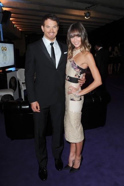 Kellan Lutz et Sharni Vinson lors de la soirée GQ à Sydney, le 21 novembre 2011.