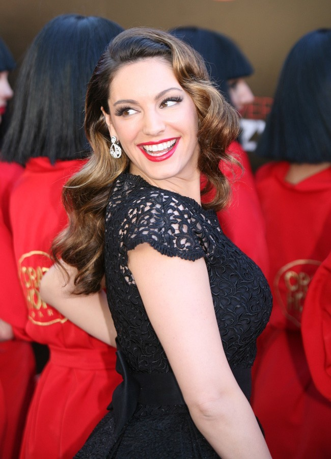 Kelly Brook le 16 octobre 2012 à Londres