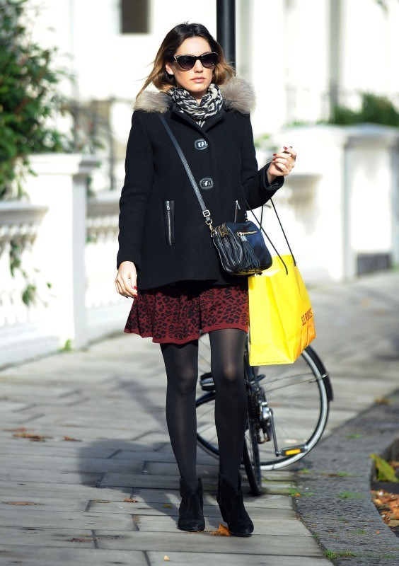 Kelly Brook, Londres, 29 octobre 2012